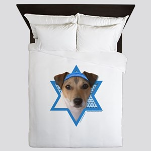 Hanukkah Star of David - Jack Queen Duvet