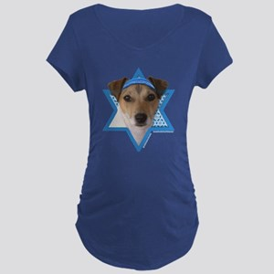 Hanukkah Star of David - Jack Maternity Dark T-Shi