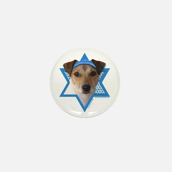 Hanukkah Star of David - Jack Mini Button