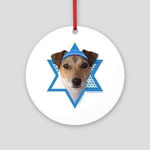 Hanukkah Star of David - Jack Ornament (Round)