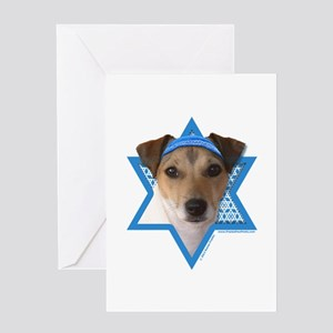 Hanukkah Star of David - Jack Greeting Card