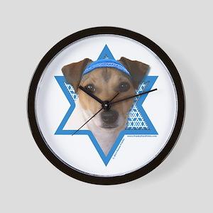 Hanukkah Star of David - Jack Wall Clock