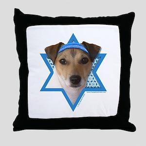 Hanukkah Star of David - Jack Throw Pillow