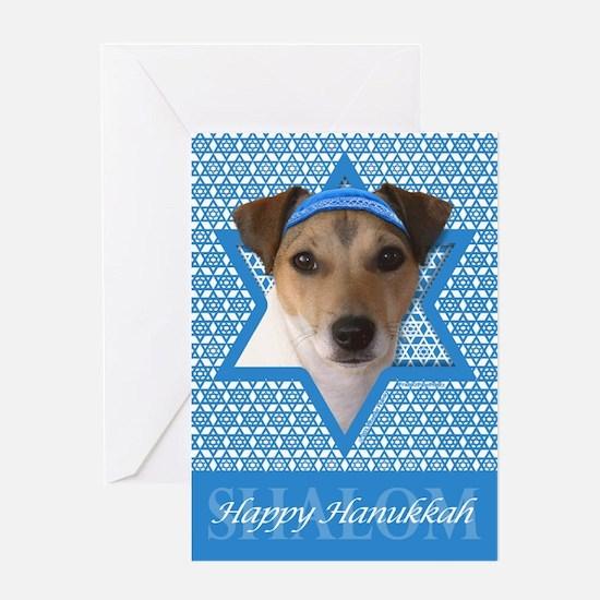 Hanukkah Star of David - Jack Greeting Card