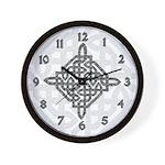 Celtic Diamond Wall Clock