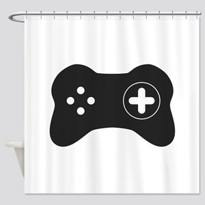 Game Controller Shower Curtain