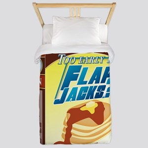 FlapJacks Twin Duvet