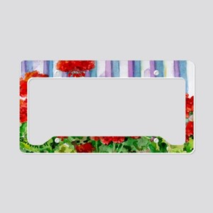 8geranium License Plate Holder