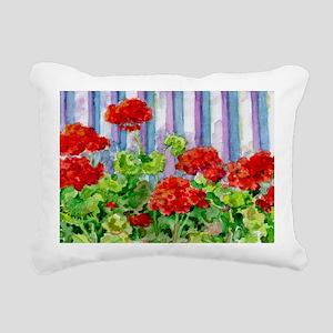 8geranium Rectangular Canvas Pillow