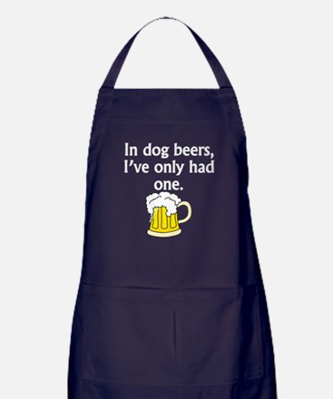 In Dog Beers Apron (dark)