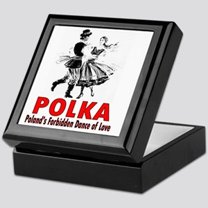 ART Polka 6 Keepsake Box