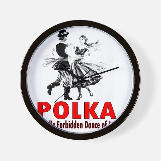 ART Polka 6 Wall Clock