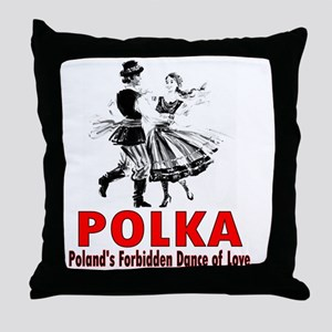 ART Polka 6 Throw Pillow