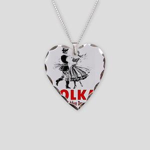 ART Polka 6 Necklace Heart Charm