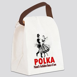 ART Polka 6 Canvas Lunch Bag