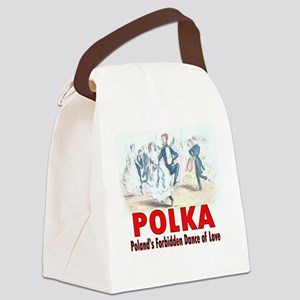 ART Polka 5a Canvas Lunch Bag