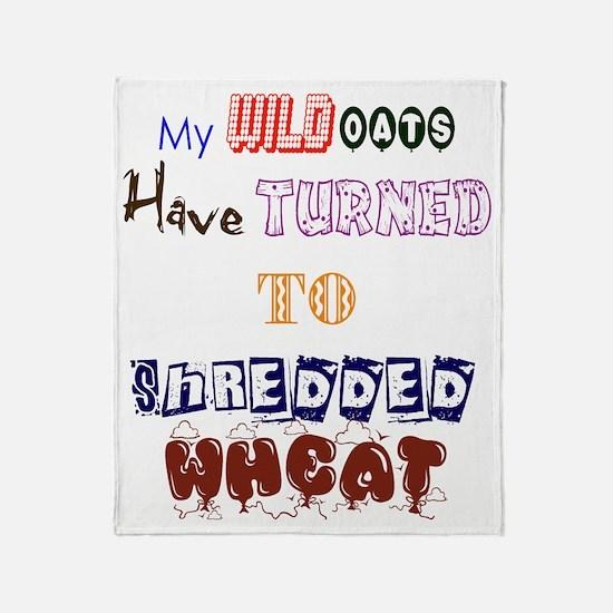 Wild Oats Throw Blanket