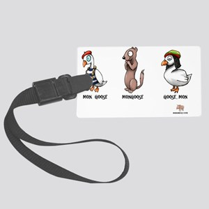 goose Large Luggage Tag