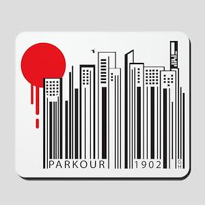Parkour Code Mousepad