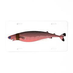 Cookiecutter Shark Aluminum License Plate