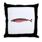 Cookiecutter Shark Throw Pillow