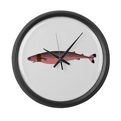 Cookiecutter Shark Large Wall Clock