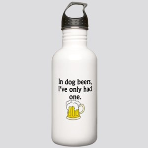 In Dog Beers Sports Water Bottle