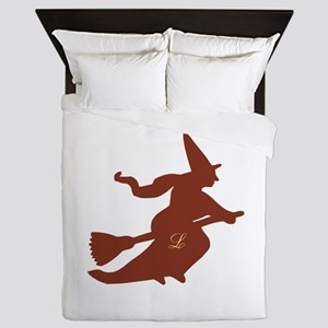 monogram freely selectable,witch Queen Duvet