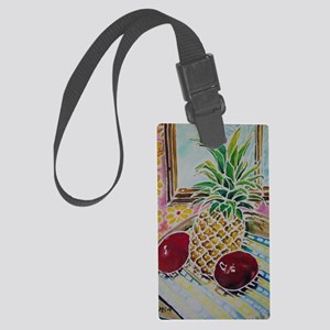 #1 of KITCHEN Bright Acrylic Pai Large Luggage Tag