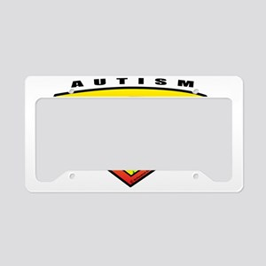 Autism-SuperHero License Plate Holder