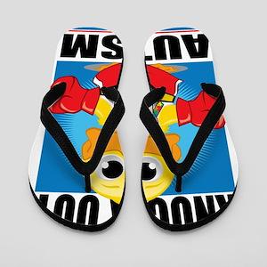 Knock-Out-Autism Flip Flops