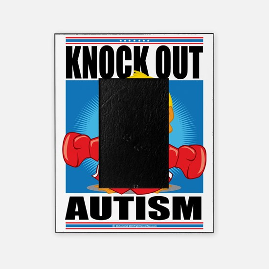 Knock-Out-Autism Picture Frame