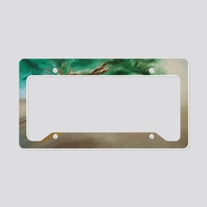 11x17 Poster of PEACEFUL TREE License Plate Holder