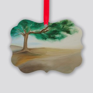 11x17 Poster of PEACEFUL TREE #1 Picture Ornament