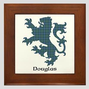 Lion - Douglas Framed Tile