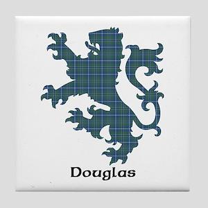 Lion - Douglas Tile Coaster