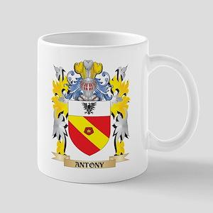 Antony Coat of Arms - Family Crest Mugs