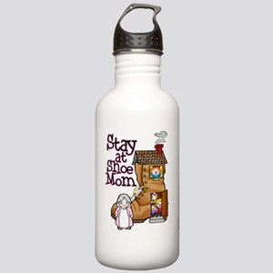 Old Woman and Shoe Stainless Water Bottle 1.0L