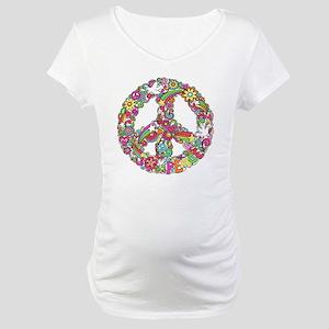Peace & Love Maternity T-Shirt