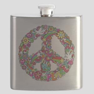 Peace & Love Flask