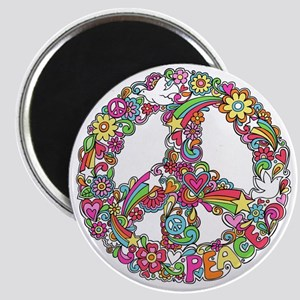 Peace & Love Magnet