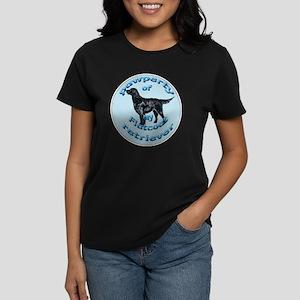 papwperty of flatcoat Women's Dark T-Shirt