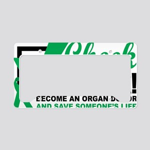 Organ-Donor-Check-the-Box License Plate Holder