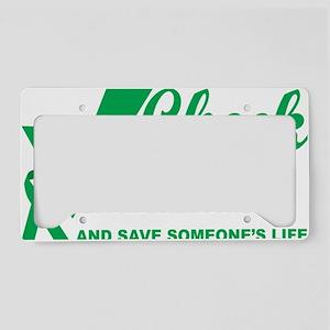 Organ-Donor-Check-the-Box-blk License Plate Holder