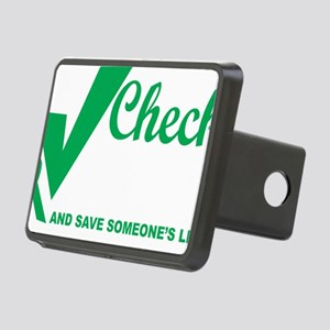 Organ-Donor-Check-the-Box- Rectangular Hitch Cover