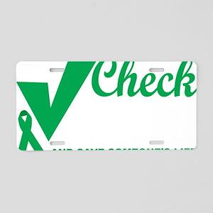 Organ-Donor-Check-the-Box-b Aluminum License Plate