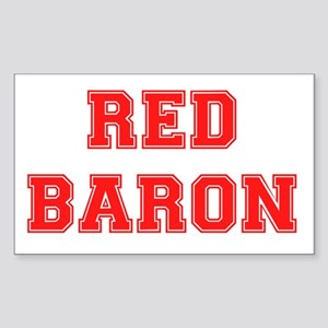 RED BARON. Sticker (Rectangle)