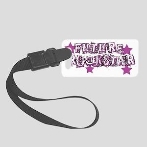 Future Rockstar pink Small Luggage Tag