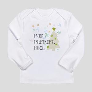 Long Sleeve Infant T-Shirt Mon Premier Noel