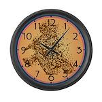Dirt Biker Large Wall Clock